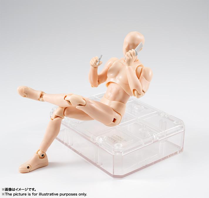 Pale Orange bandai s.h. figuarts body kun man dx set pale orange color version