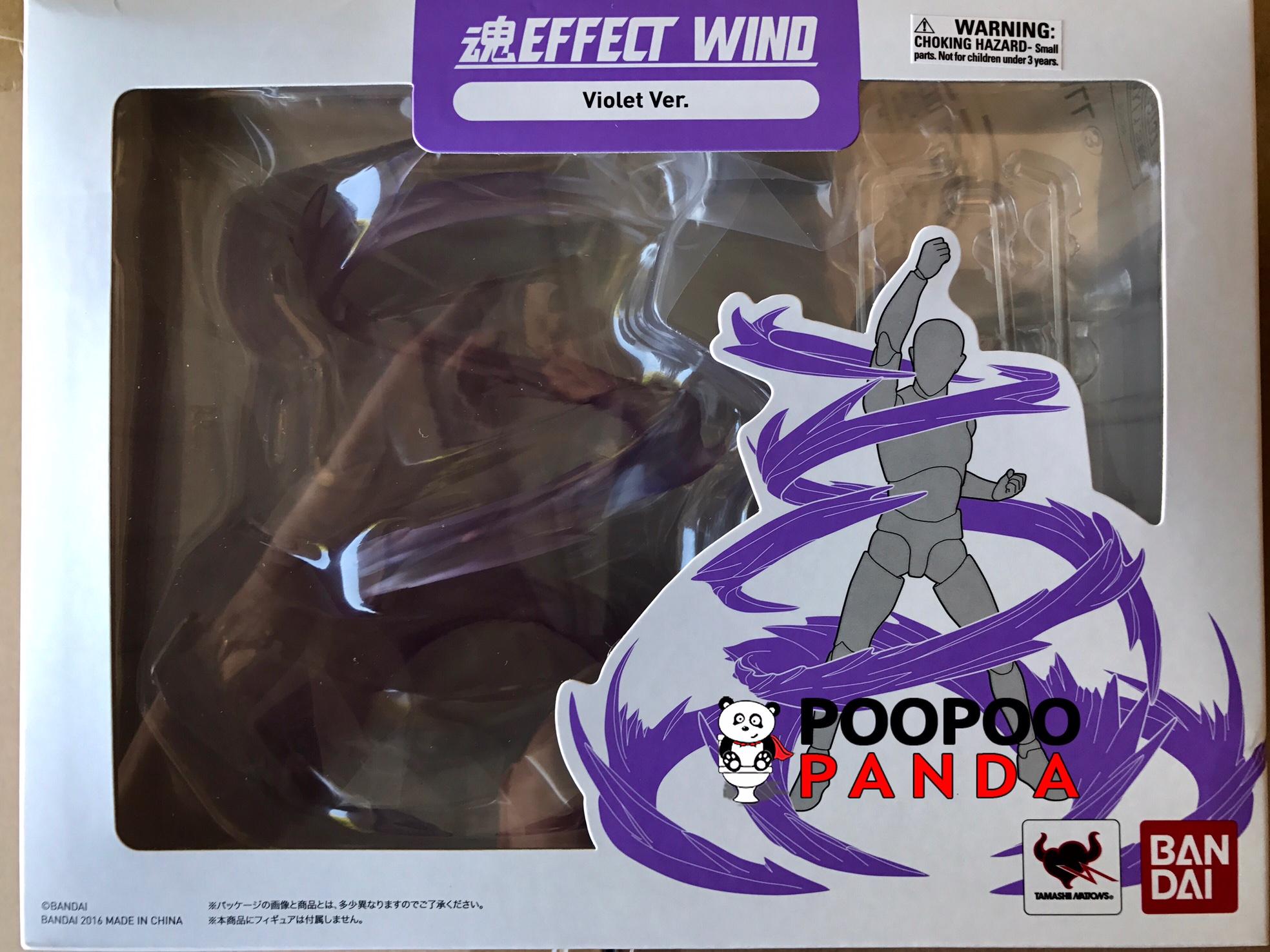 bandai tamashii effect wind (violet ver.)