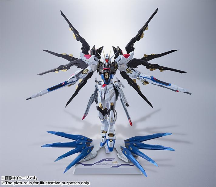 "Metal Build Strike Freedom Gundam ""Gundam Seed"""