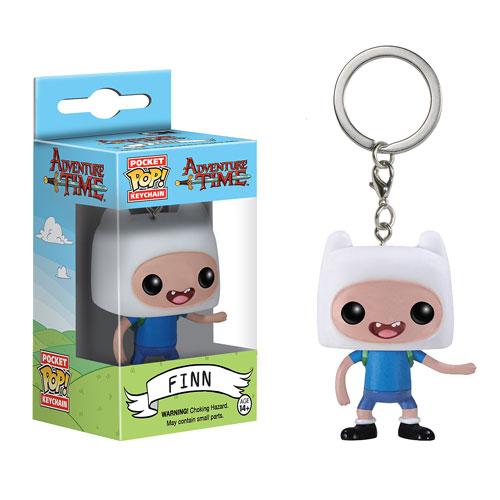 Adventure Time Finn Pocket Pop Vinyl Figure Key Chain