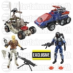 G.I. Joe Desert Duel Vehicles with Action Figures - Exclusive