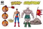 DC ICONS DOOMSDAY SUPERMAN DEATH SUPERMAN DELUXE ACTION FIGURE 2 PACK