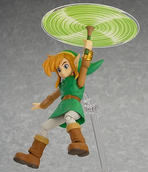 The Legend of Zelda: A Link Between Worlds Link Deluxe Version Figma Action Figure