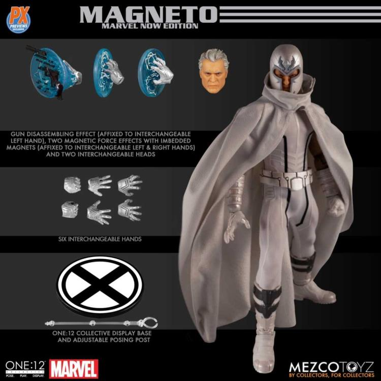 X-MEN MAGNETO MARVEL NOW! Edition Mezco One:12 Collective Previews Exclusive