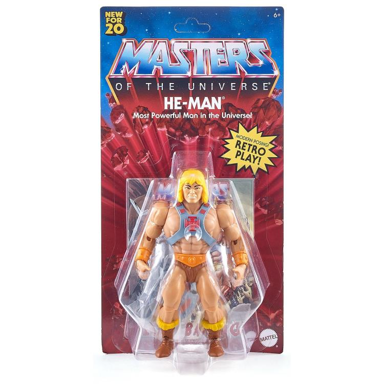 HE-MAN - MASTERS OF THE UNIVERSE ORIGINS ACTION FIGURE
