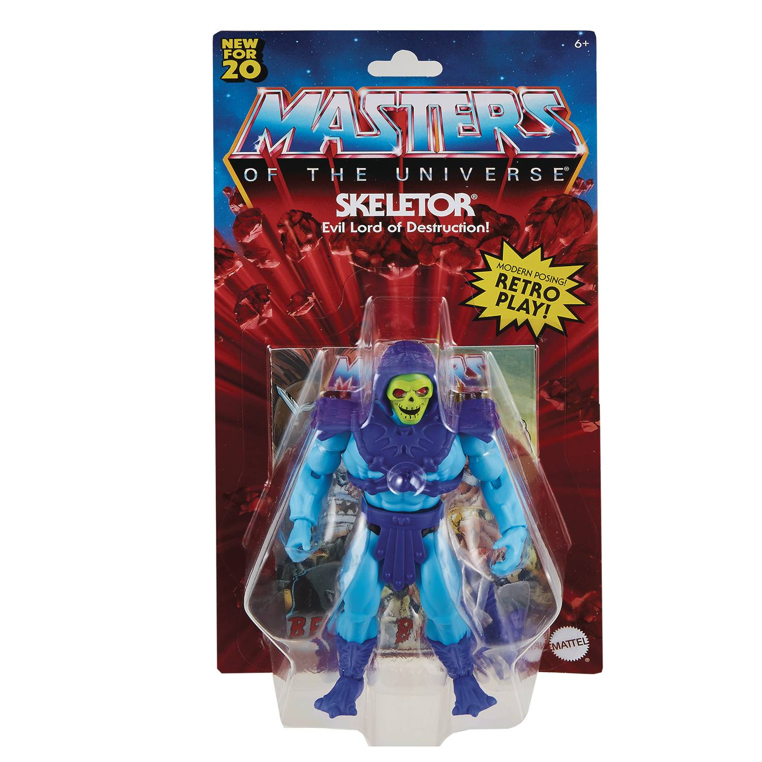 SKELETOR- MASTERS OF THE UNIVERSE ORIGINS ACTION FIGURE