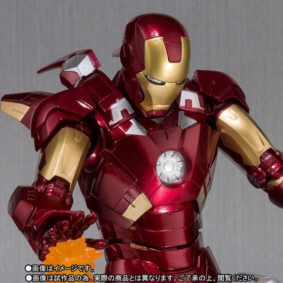 Bandai Shfiguarts Ironman Mk 7 And Hall Of Armor Set Marvel