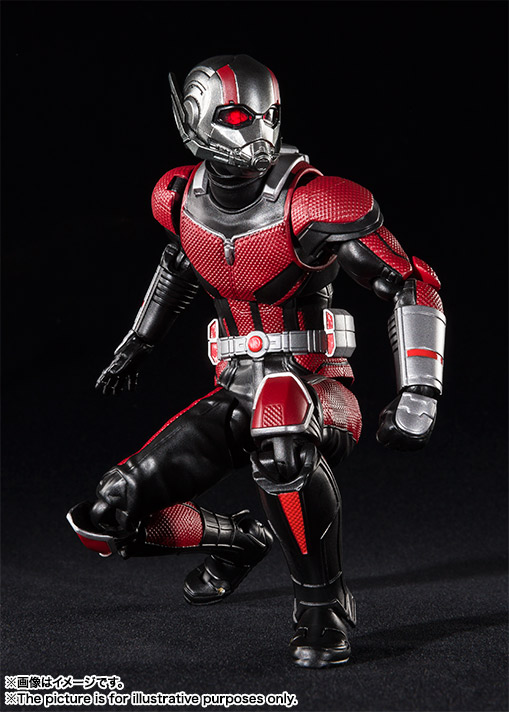 bandai s h figuarts ant man ant set ant man and the wasp p