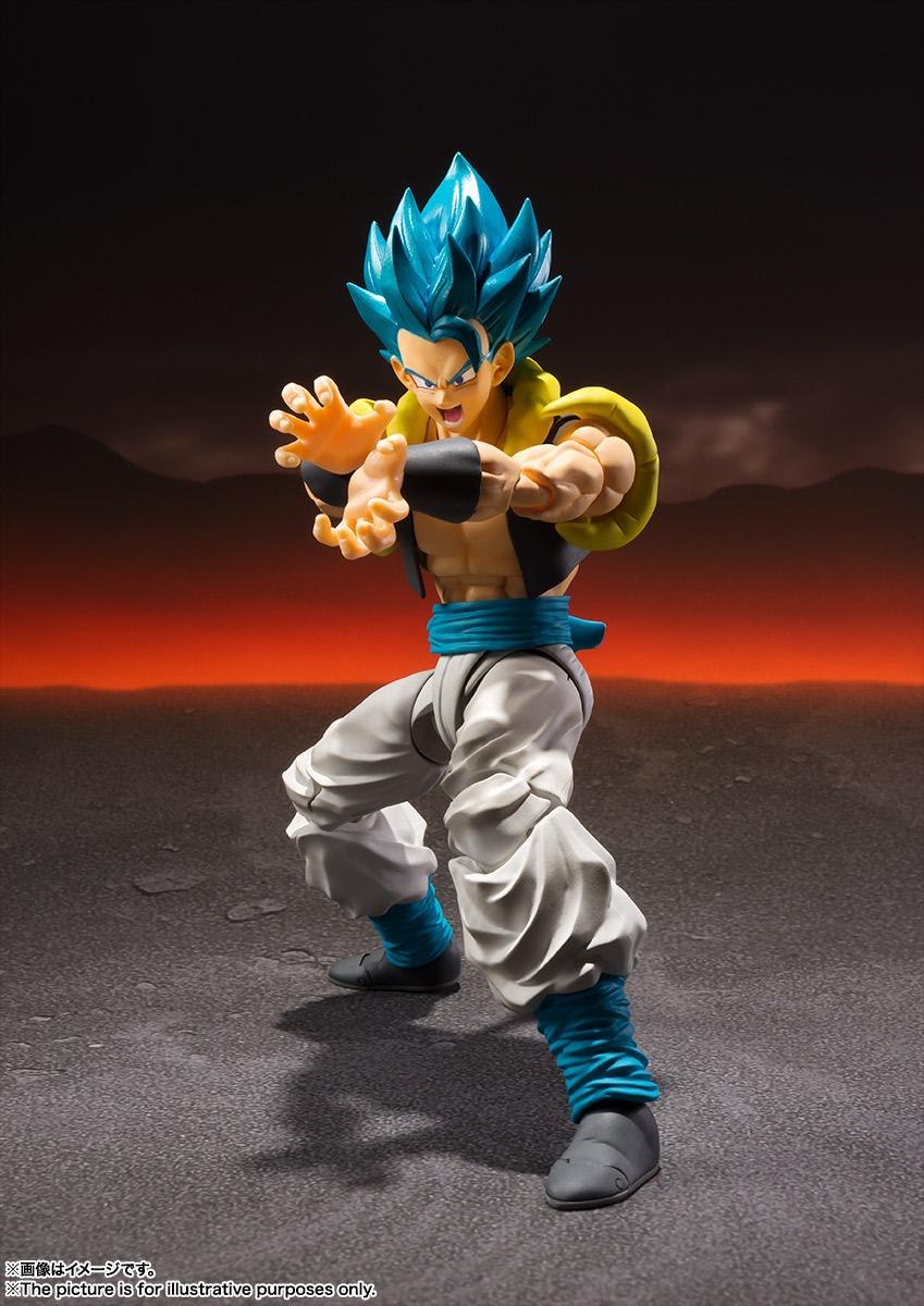 Super Saiyan God Super Saiyan Gogeta Broly Dragon Ball Super SH Figuarts