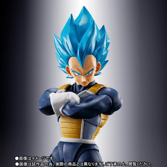 Bandai Sh Figuarts Super Saiyan God Super Saiyan Vegeta Dragon