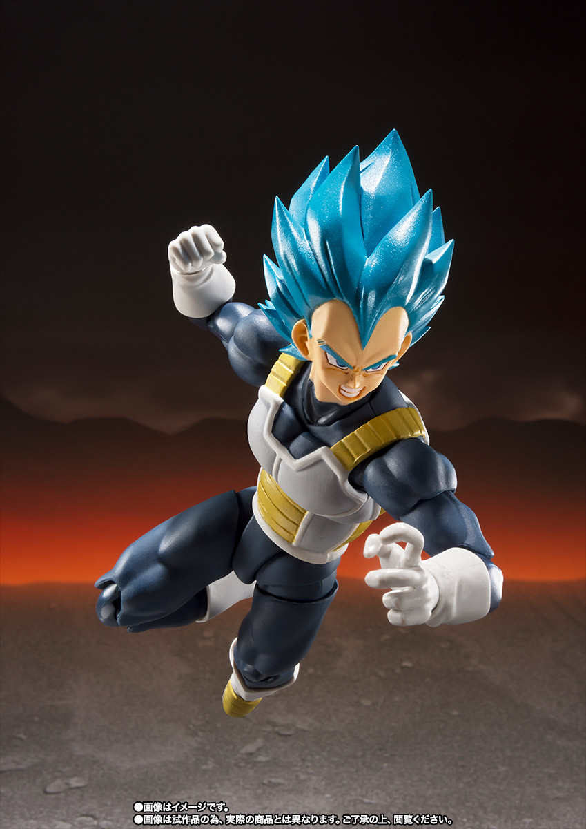 Bandai Sh Figuarts Super Saiyan God Super Saiyan Vegeta Dragon Ball Super Broly