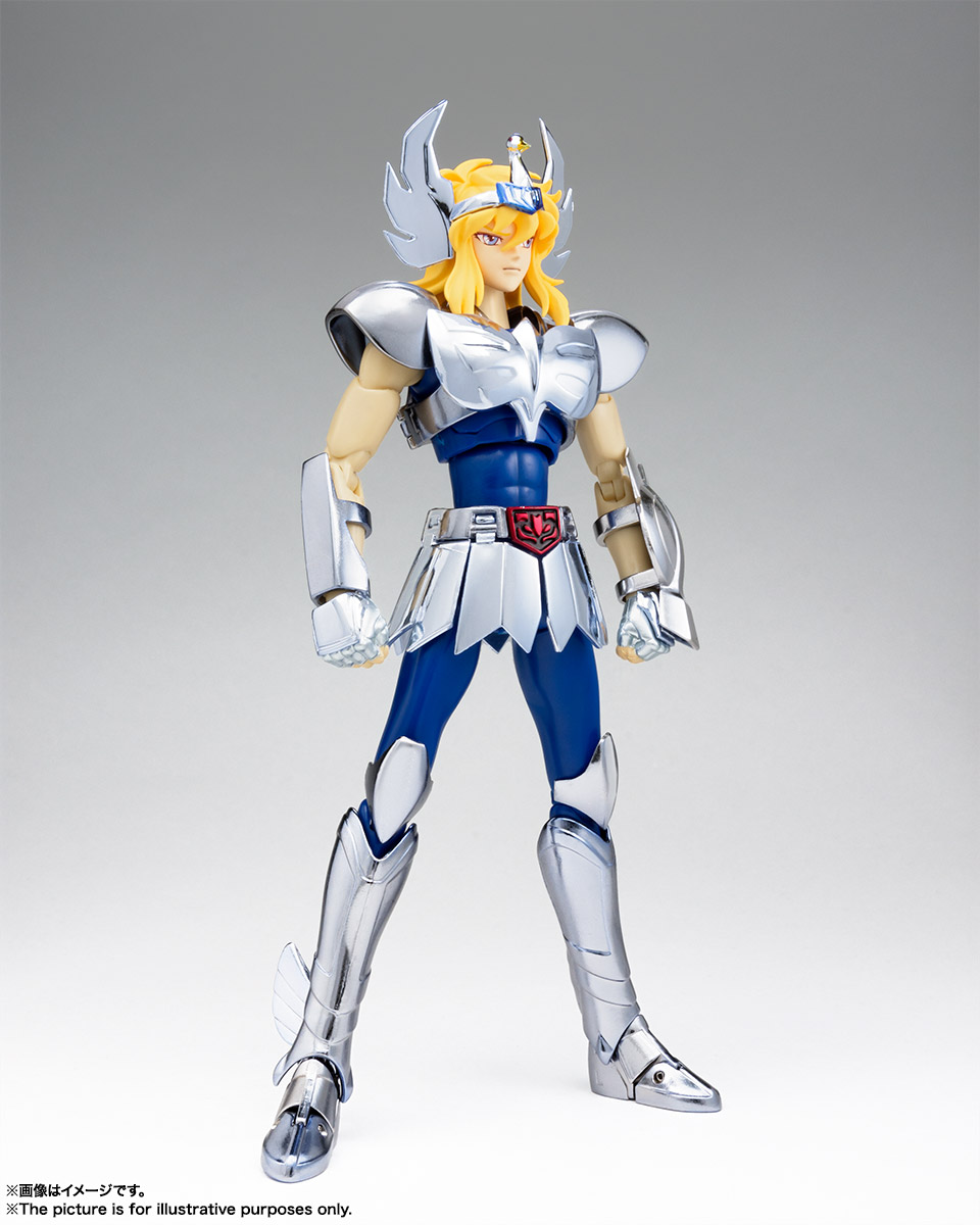 Bandai Tamashii Nations Saint Cloth Myth Ex Cygnus Hyoga Action Figure