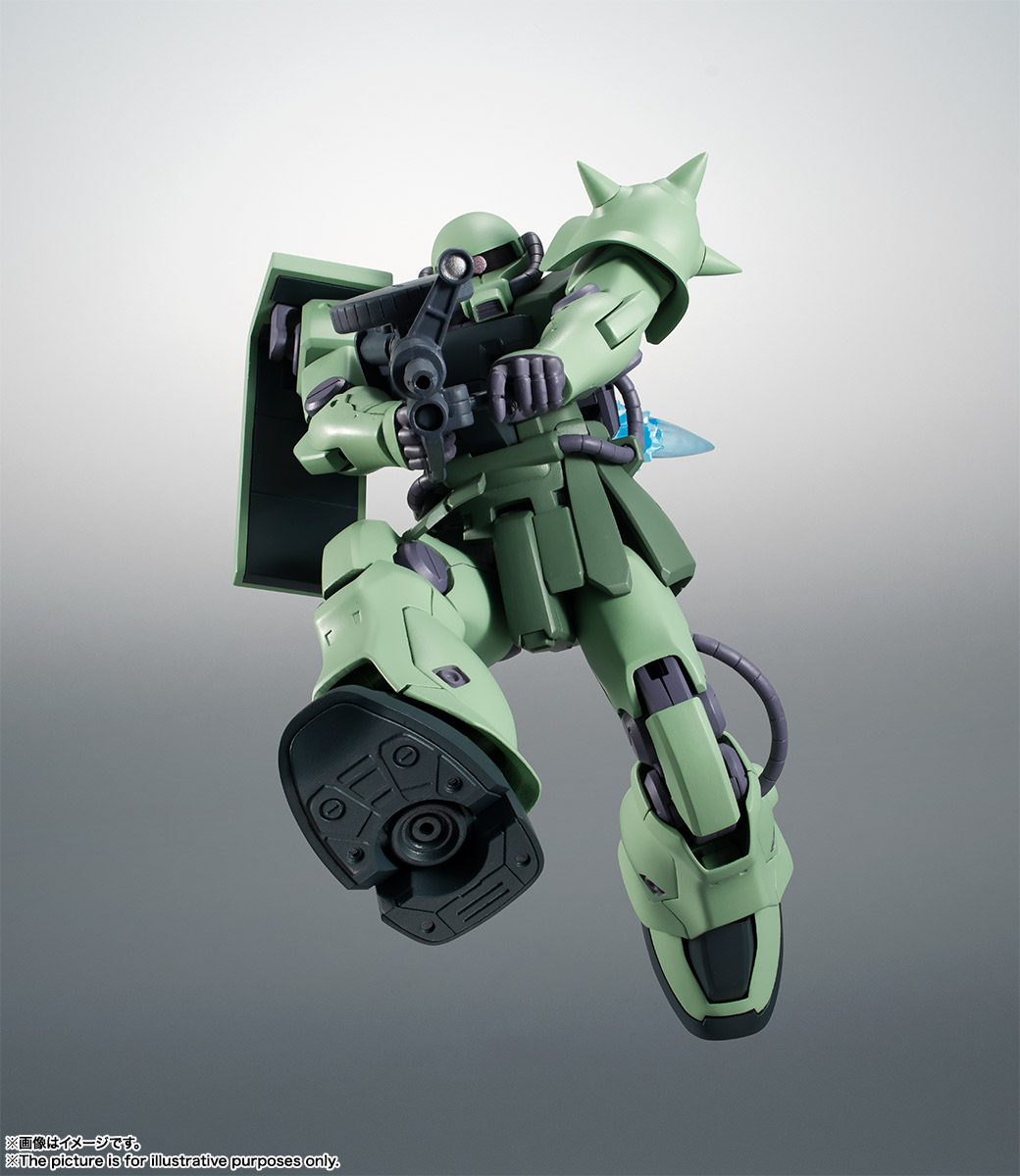 Bandai Robot Spirits MS-06F-2 Zaku II F-2 Type Ver A.N.I.M.E. PRE-ORDER