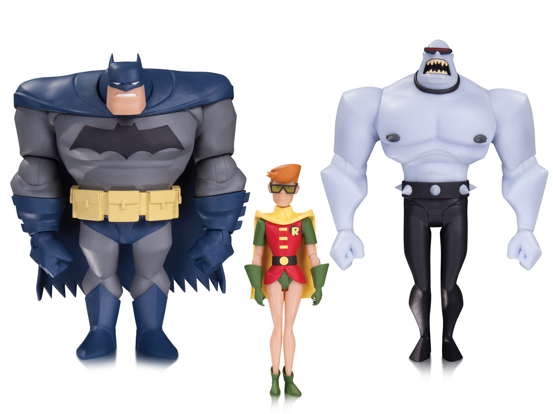 batman animated series legends of the dark knight 3pack