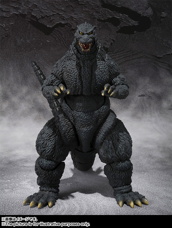 S H E Together Forever Hebe: S.H. MonsterArts Godzilla