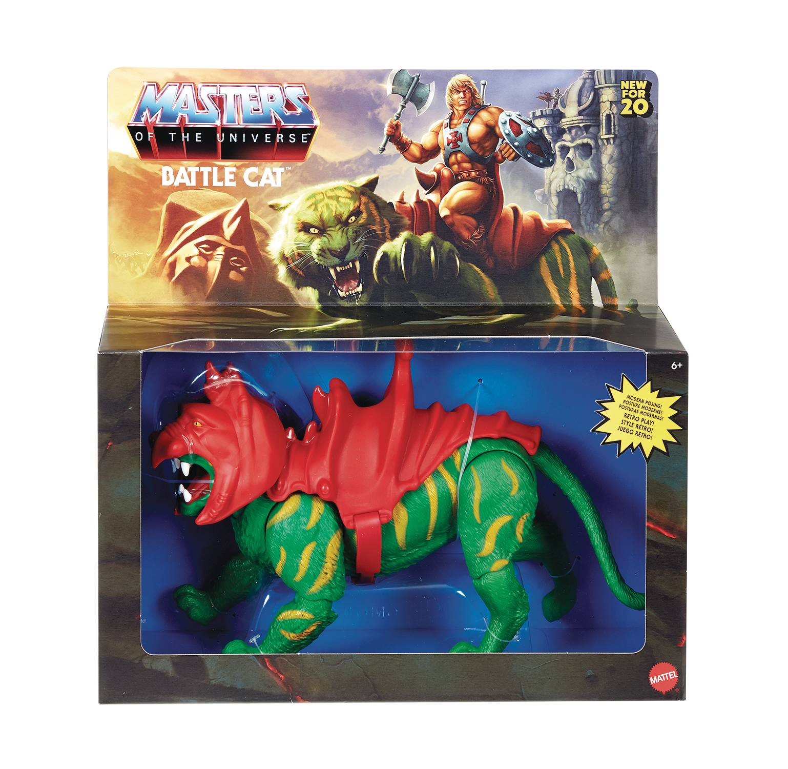 BATTLE CAT - MASTERS OF THE UNIVERSE ORIGINS ACTION FIGURE