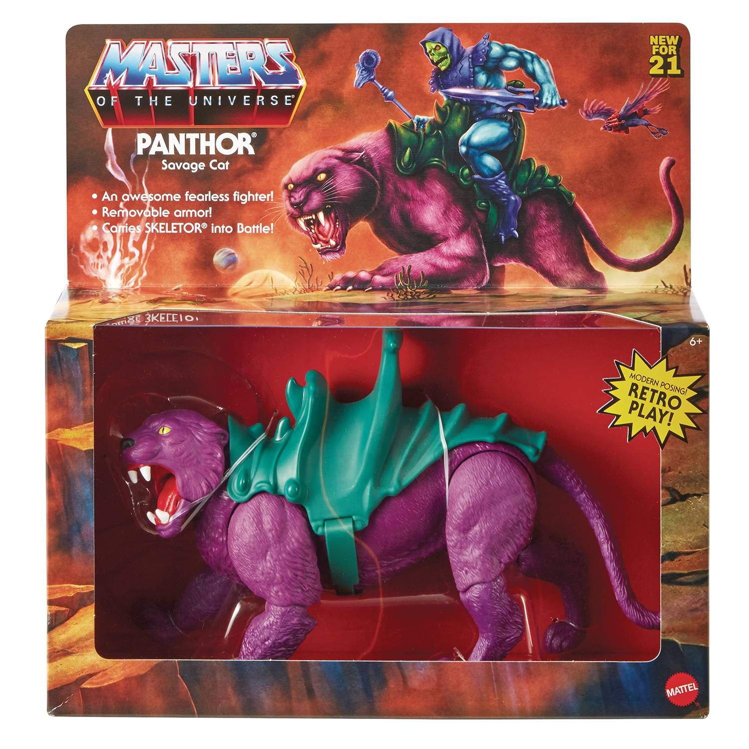 PANTHOR - MASTERS OF THE UNIVERSE ORIGINS ACTION FIGURE