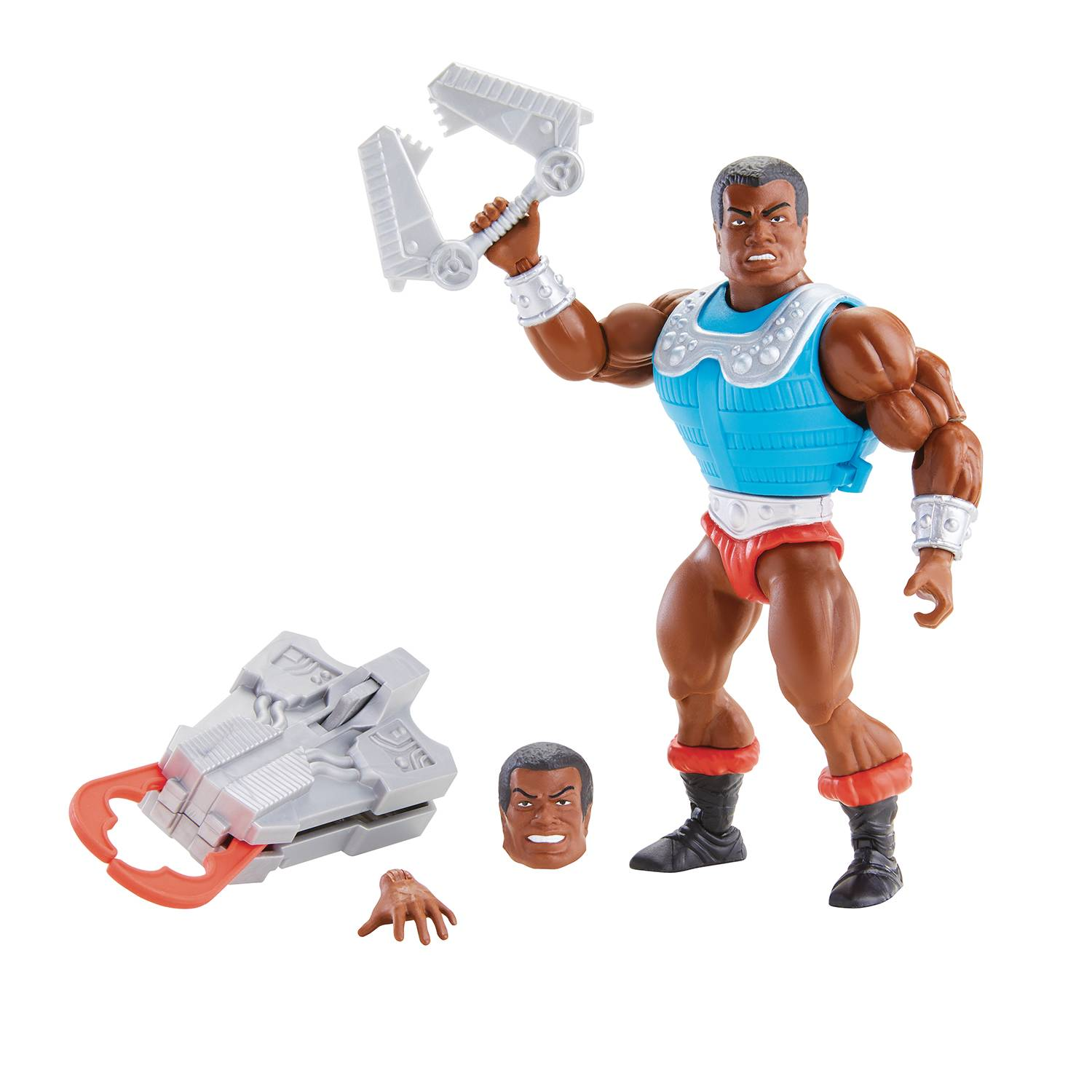DELUXE CLAMP CHAMP - MASTERS OF THE UNIVERSE ORIGINS ACTION FIGURE