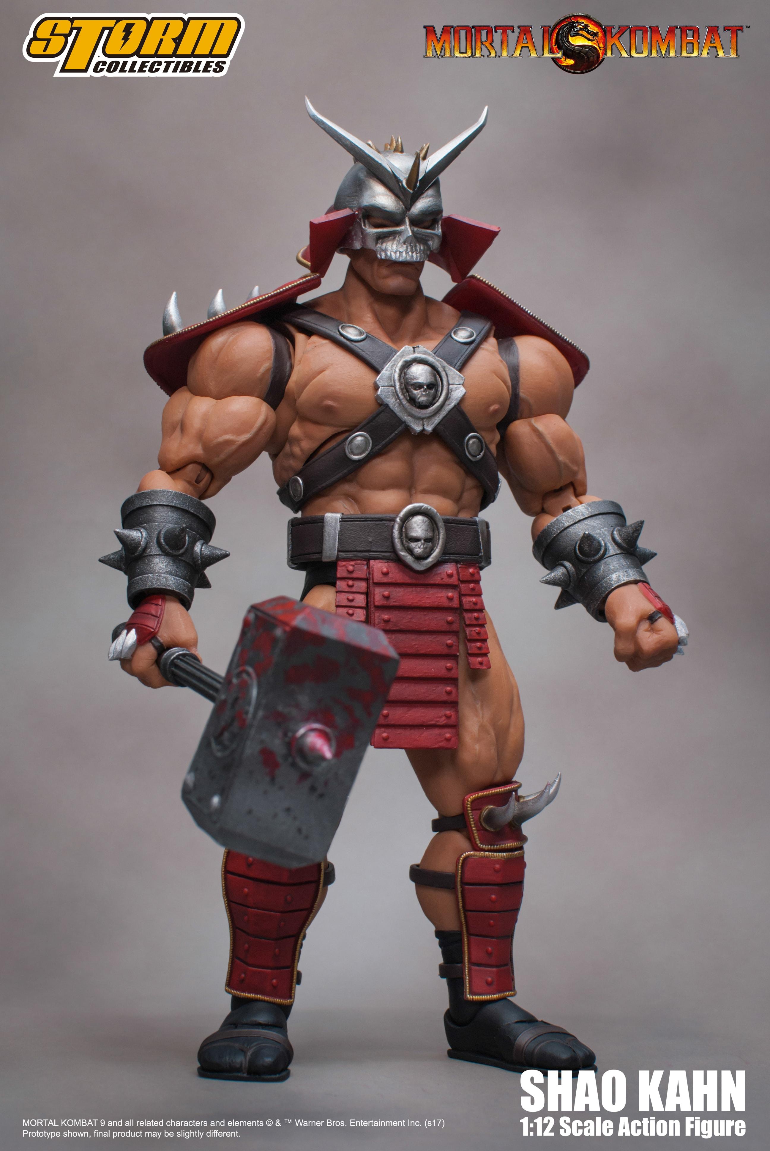 "Storm Collectibles Shao Kahn ""Mortal Kombat"" 1:12 Action ..."
