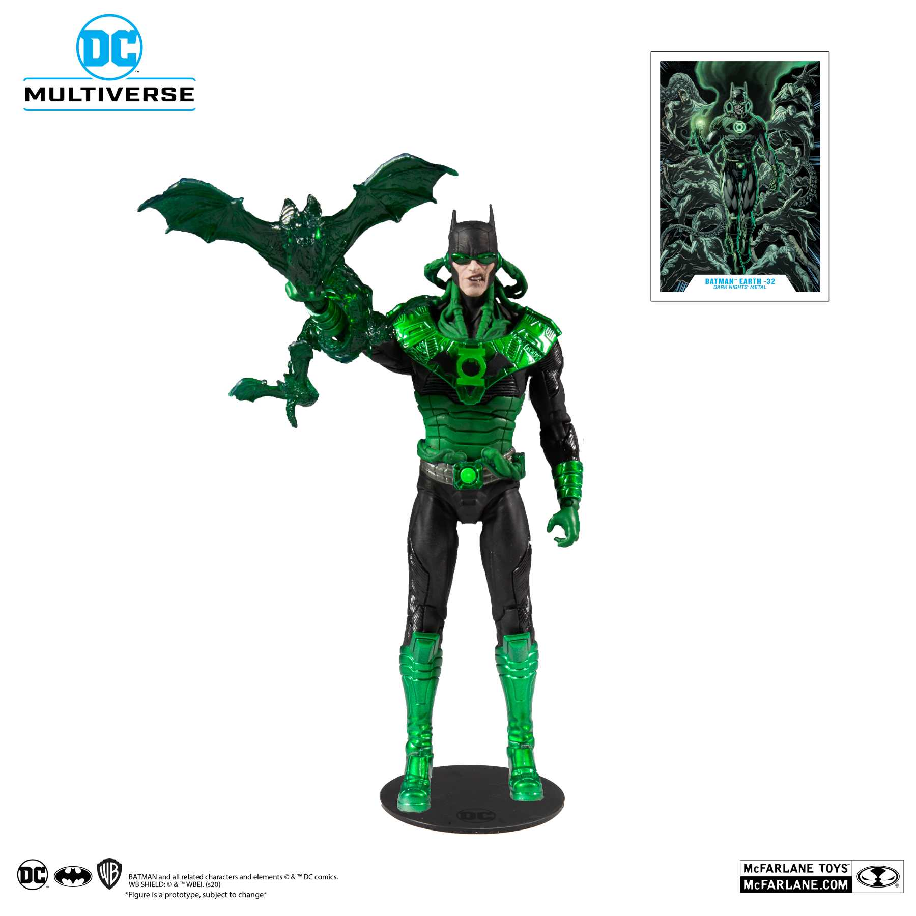 BATMAN EARTH-32 DAWNBREAKER - DC MULTIVERSE DARK NIGHTS METAL McFarlane Toys 7-Inch Action Figure