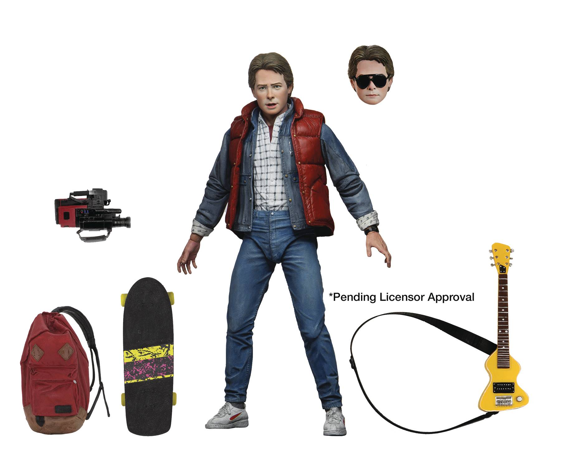 ULTIMATE MARTY MCFLY BACK TO THE FUTURE  - NECA 7 INCH ACTION FIGURE