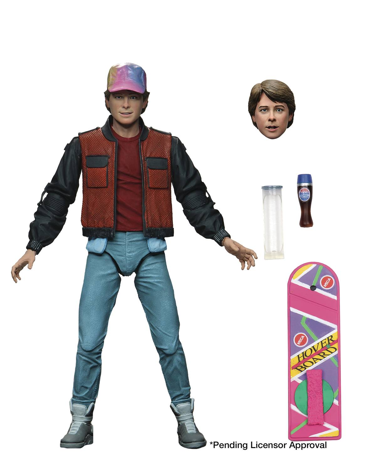 ULTIMATE MARTY MCFLY BACK TO THE FUTURE 2 - NECA 7 INCH ACTION FIGURE