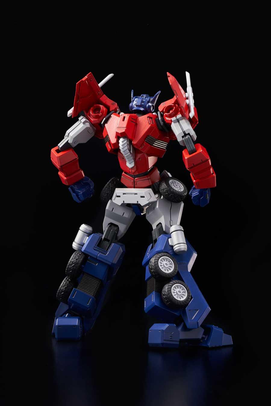 Flame Toys Furai Model 01 Optimus Prime Attack Mode Transformers