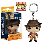 Doctor Who: 4th Doctor Pocket Pop! Vinyl Keychain