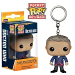 Doctor Who: 12th Doctor Pocket Pop! Vinyl Keychain