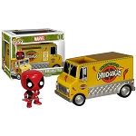 Deadpool: Deadpool & Chimichanga Truck Pop!! Vinyl Figure