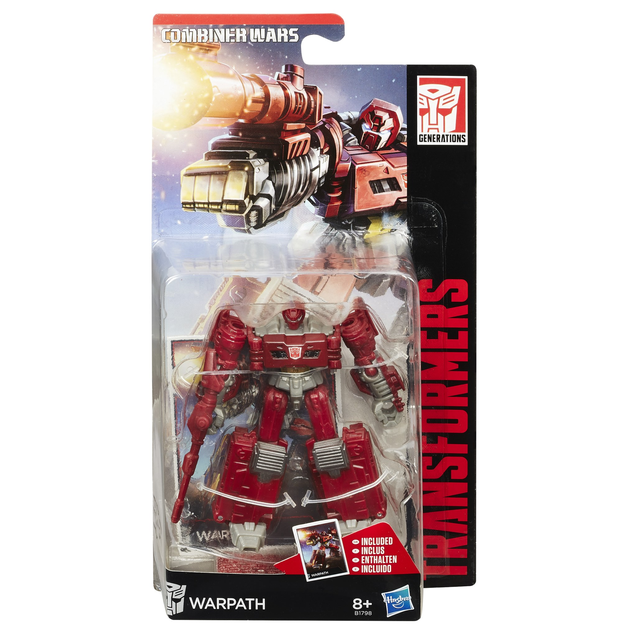 Transformers Generations Combiner Wars Warpath