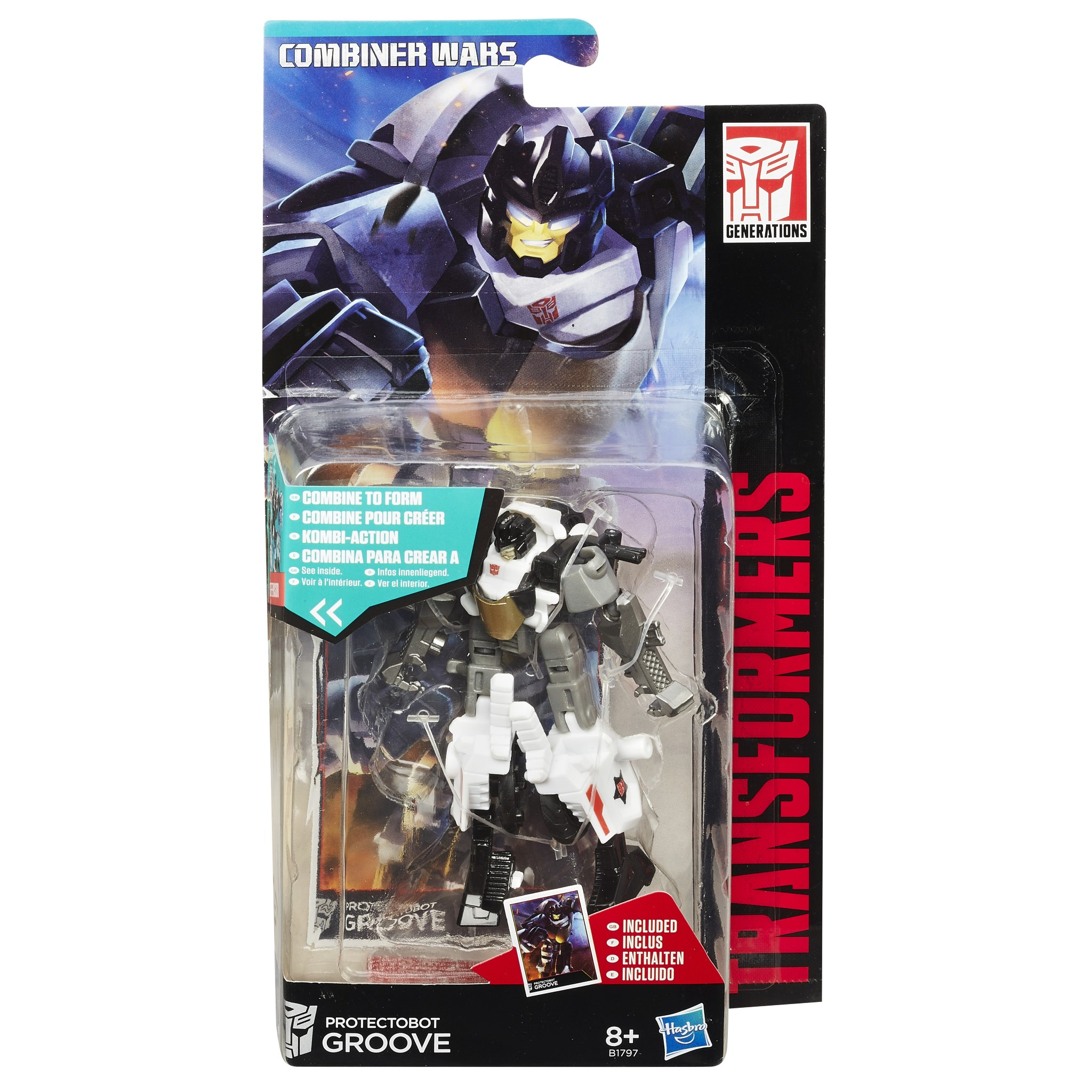 Transformers Generations Combiner Wars Legends Groove