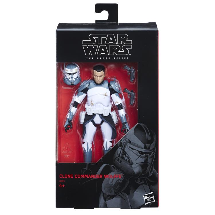 CLONE COMMANDER WOLFFE Star Wars The Black Series 6-inch Action Figure
