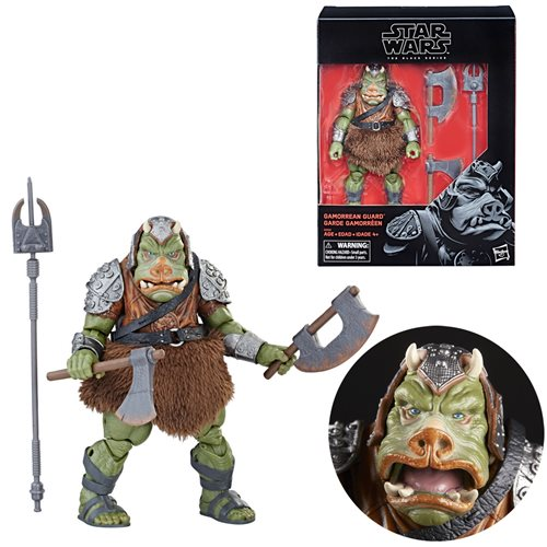 GAMORREAN GUARD Star Wars The Black Series 6-inch Action Figure Exclusive