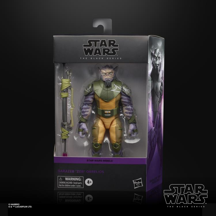 ZEB ORRELIOS Star Wars The Black Series 6-inch Action Figure