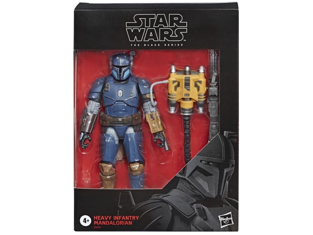 HEAVY INFANTRY MANDALORIAN Star Wars The Black Series 6-inch Action Figure