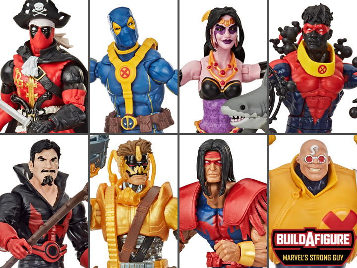 (STRONG GUY BAF) Marvel Legends Deadpool Wave 3 Case of 8