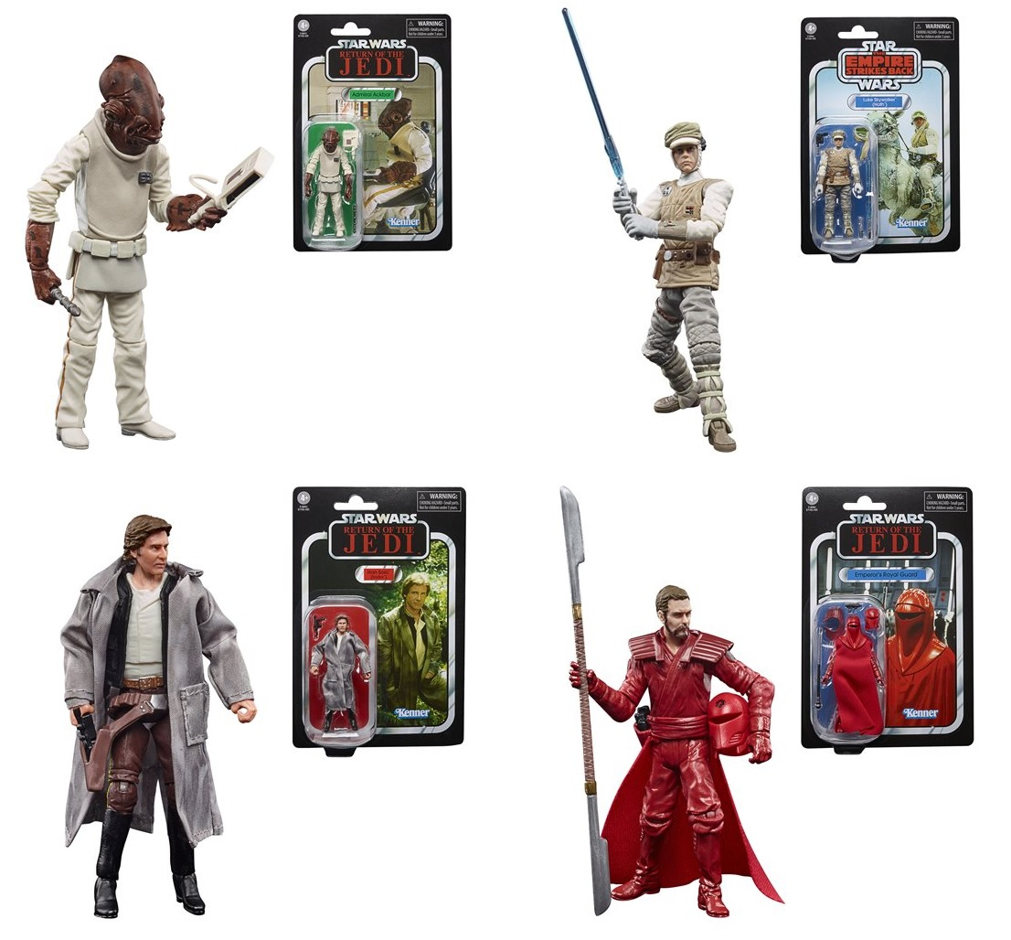 Star Wars The Vintage Collection 2020 Wave 7 (SET OF 4) 3 3/4 inch Action Figure