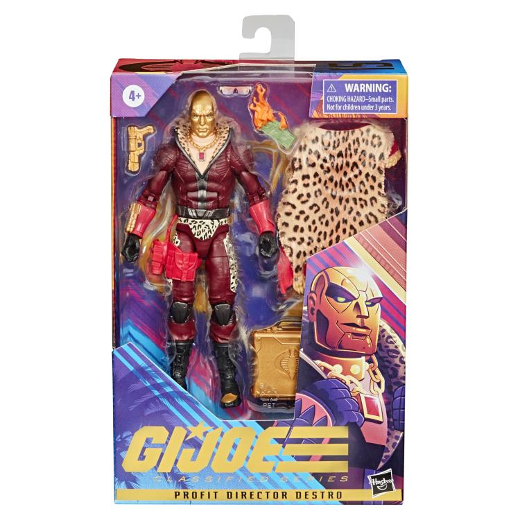 PROFIT DIRECTOR DESTRO - G.I. Joe Classified Series 6-Inch Action Figure Exclusive