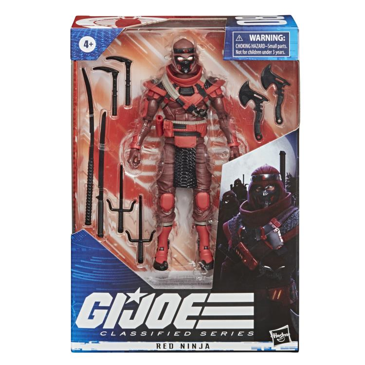 RED NINJA - G.I. Joe Classified Series 6-Inch Action Figure
