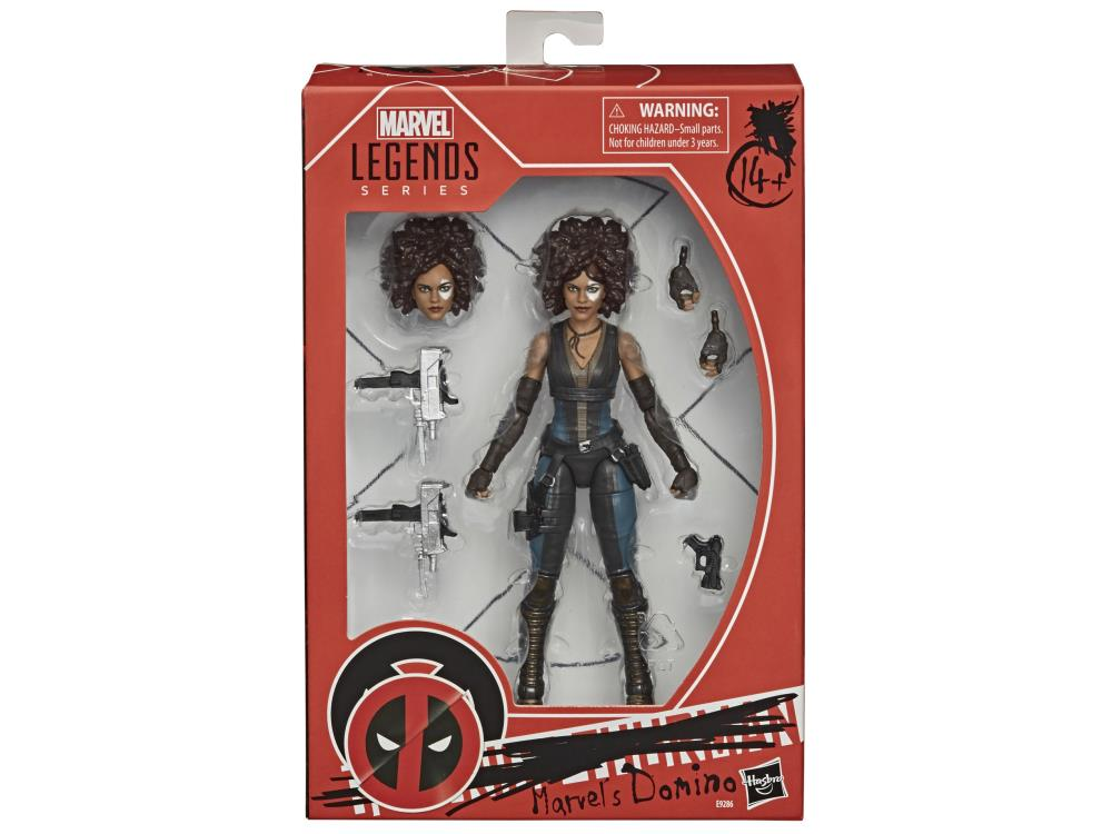 DOMINO Deadpool Movie Marvel Legends 6-Inch Action Figure