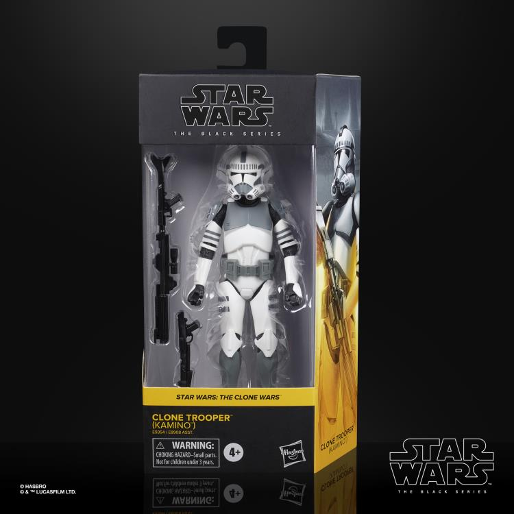 CLONE TROOPER (KAMINO) Star Wars The Black Series 6-inch Action Figure
