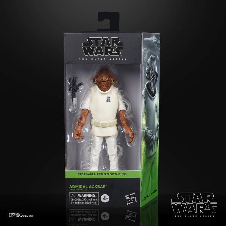 ADMIRAL ACKBAR Star Wars The Black Series 6-inch Action Figure
