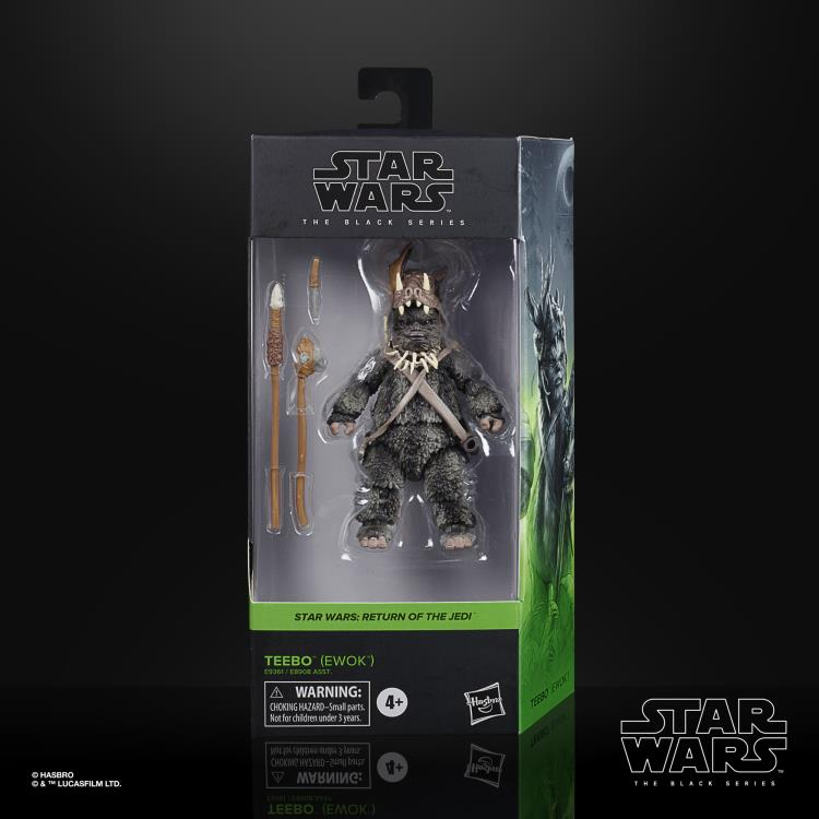 TEEBO THE EWOK Star Wars The Black Series 6-inch Action Figure