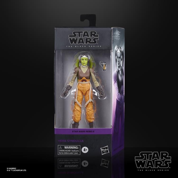 HERA SYNDULLA Star Wars The Black Series 6-inch Action Figure