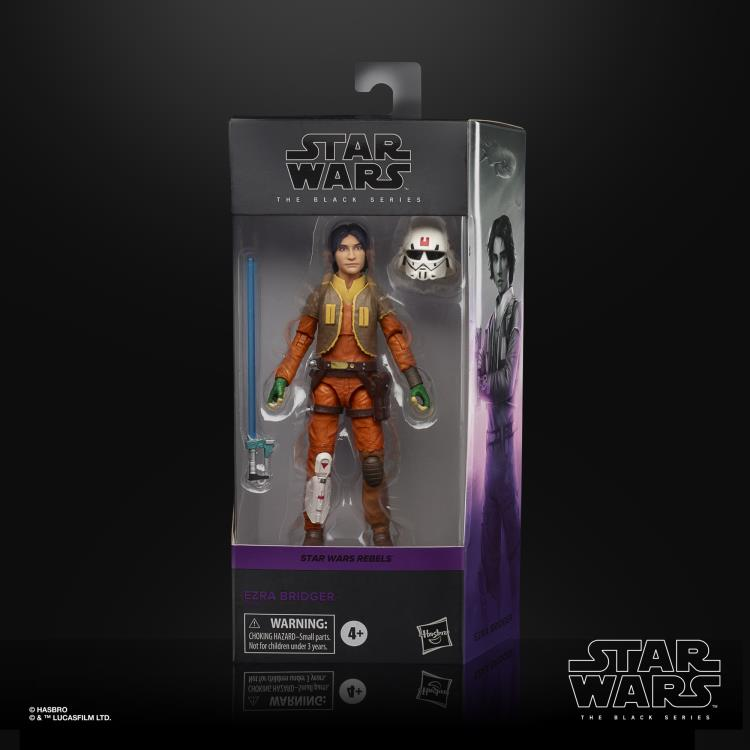 EZRA BRIDGER Star Wars The Black Series 6-inch Action Figure