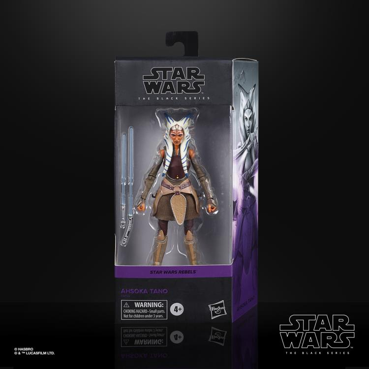 ASHOKA TANO Star Wars The Black Series 6-inch Action Figure
