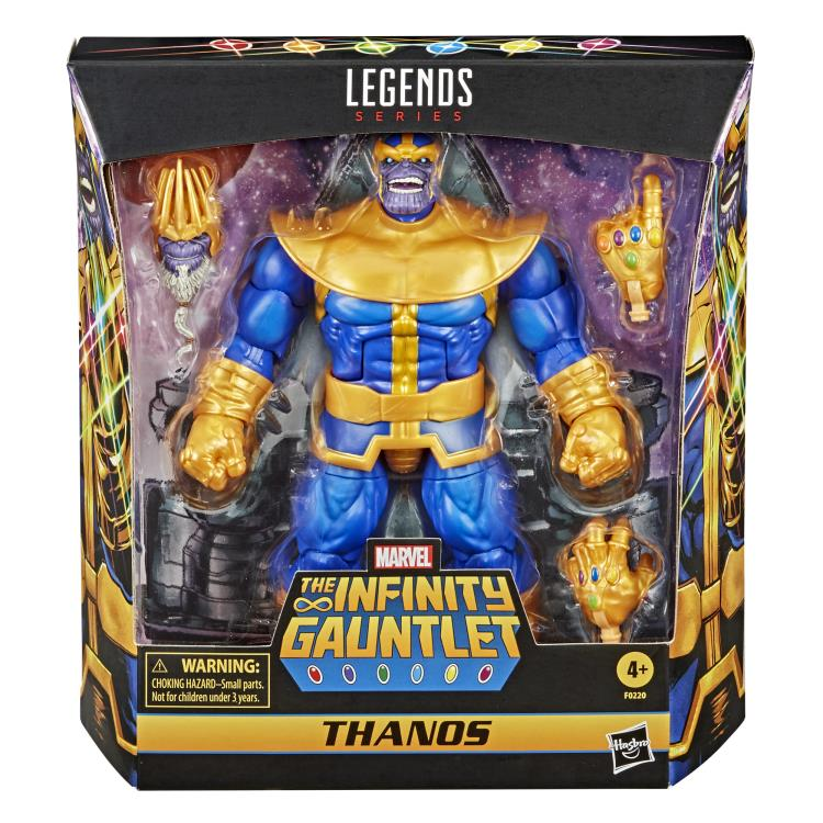 THANOS DELUXE Marvel Legends 6-Inch Action Figure EXCLUSIVE
