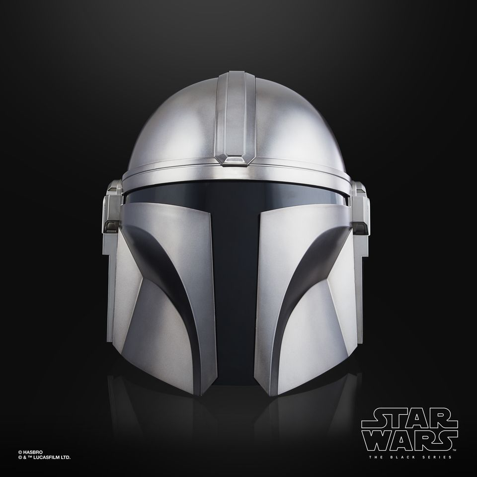 MANDALORIAN HELMET - STAR WARS THE BLACK SERIES ELECTRONIC HELMET
