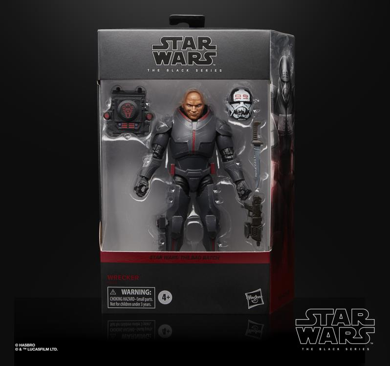 WRECKER DELUXE Star Wars The Black Series BAD BATCH 6-inch Action Figure